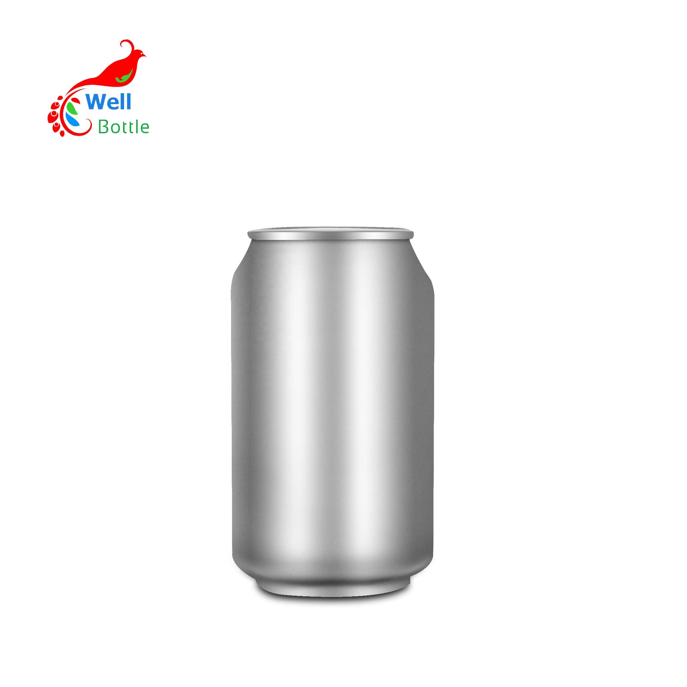 Promotion 250ml 330ml 500ml round aluminum beer beverage can for soft drink milk MC-232C