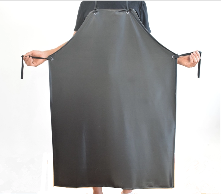 Waterproof and oil resistant acid and alkali apron PVC Industrial leather apron safety work Chemical Industry PVC Apron