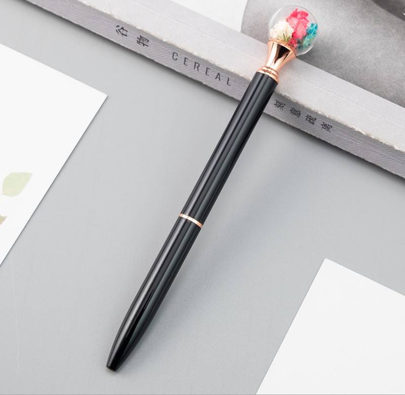 Fashion Cute Colorful Cute Kawaii Lovely Flower Gel Ball Pen Office School Supply Stationery