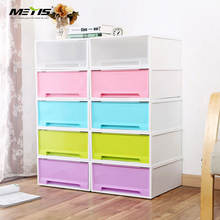 METIS high quality free Stackable plastic storage cabinet drawer