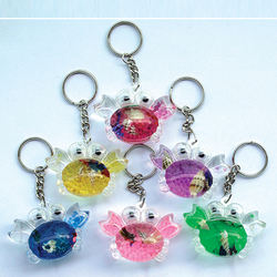 Crab key chain exports a variety of key chain optional