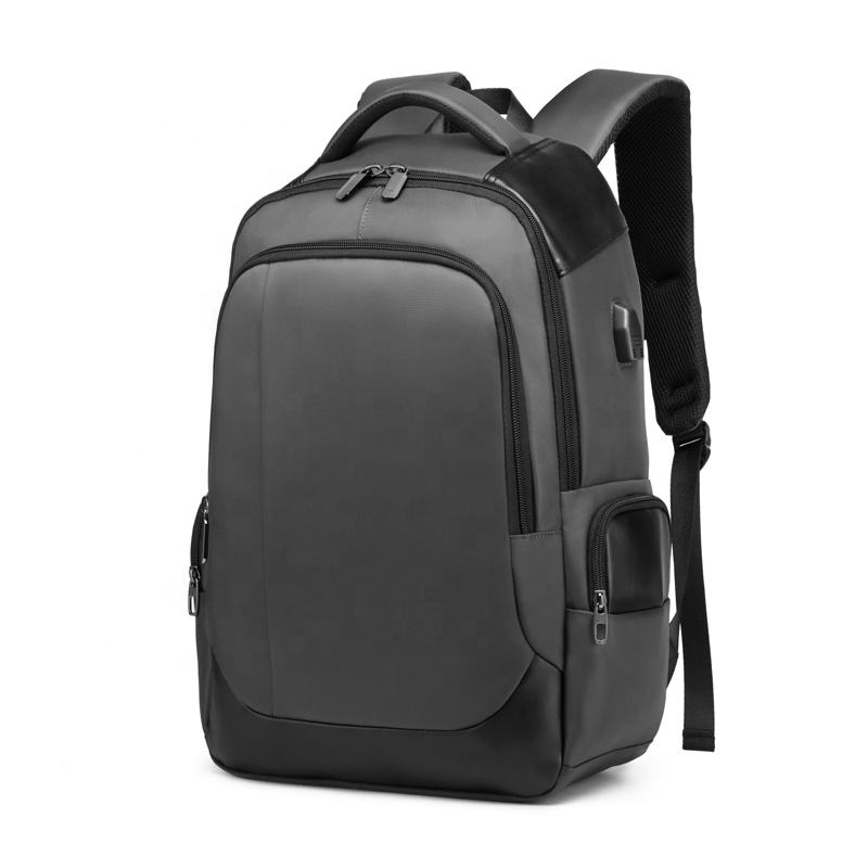 Free custom logo Outdoor hiking back bag laptop waterproof backpack with laptop compartment with chargeable USB output