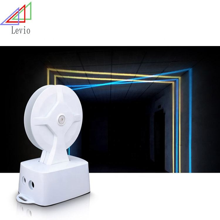curtain 360 degree IP65 dmx rgb commercial led window trick light Wall Mounted DMX RGB 360 Degree Graphic Led Window Lamp Trick