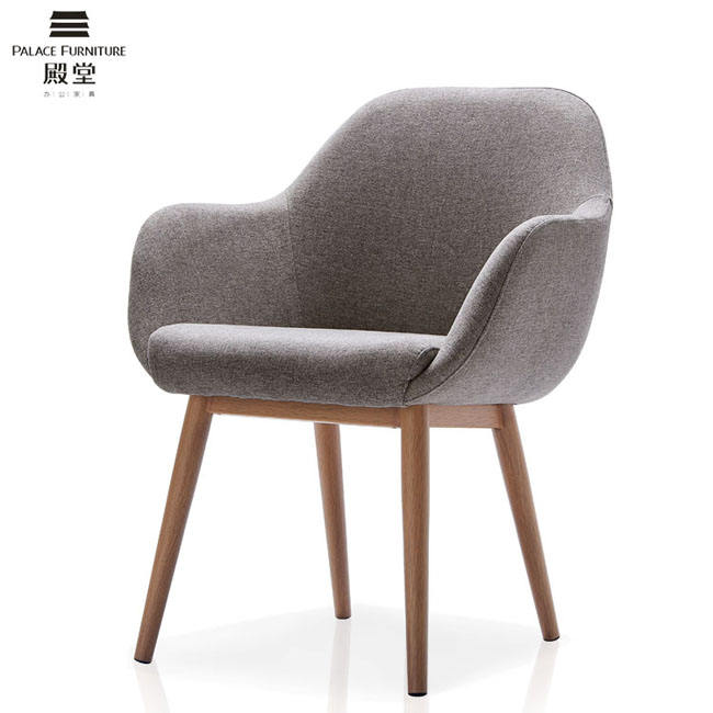 Office Leisure Arm Chair With Steel Leg grey velvet dining chair crushed fabric modern armchair velvet