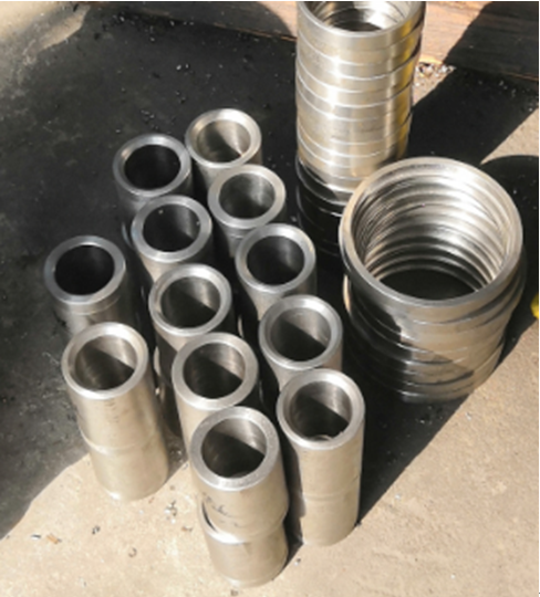 Wear resistance corrosion resistance and crack resistance bushing and sleeves used in heating industry