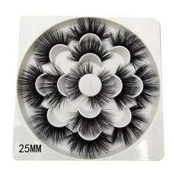 20mm 25mm 27mm 30mm  mink eyelashes  7pair cheap false eyelashes