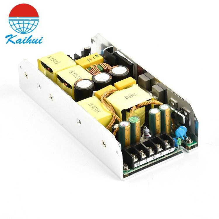 High power factor >95% industrial open frame power supply dual 48V 24V from China manufacturer