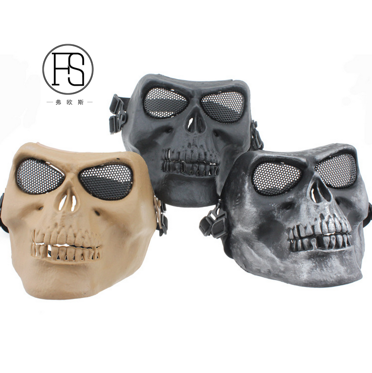 Fighting Training Antiriot Antistrike Full Face Mask M02 Skulls Full Face Mask Horror Ghost dancing party Game Mask
