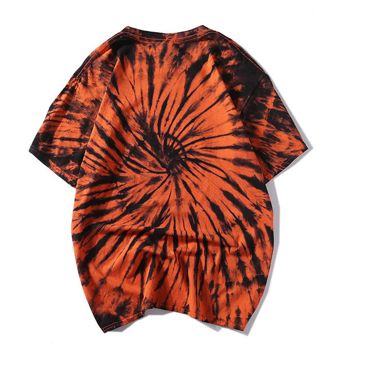 Wholesale Men 100%Cotton Tie Dye T Shirts In Bulk
