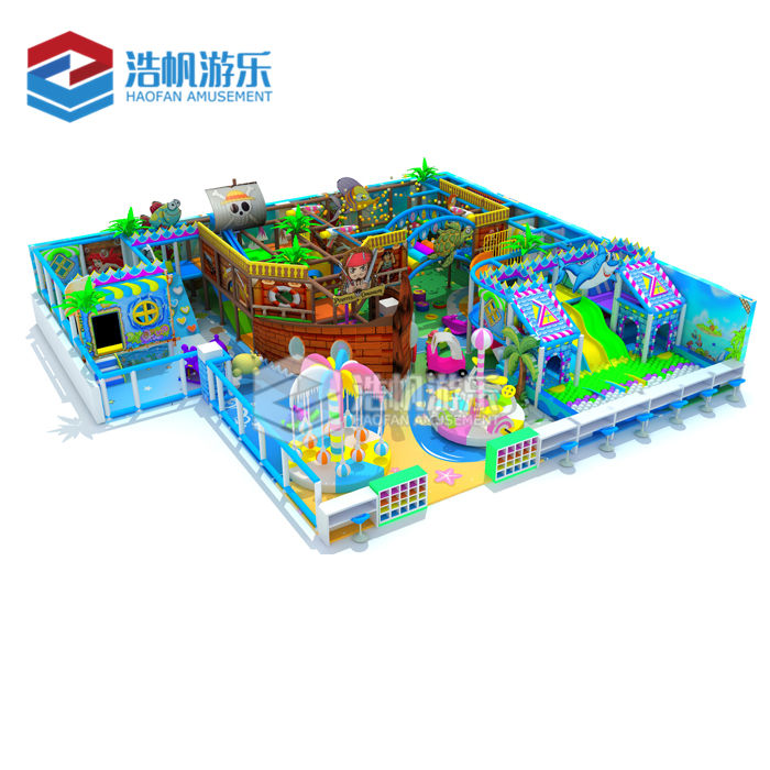 Toddler Kids Cafe Room Soft Play Games Indoor Playground Amusement Park Kids Playhouse Metal Net Climb Structure