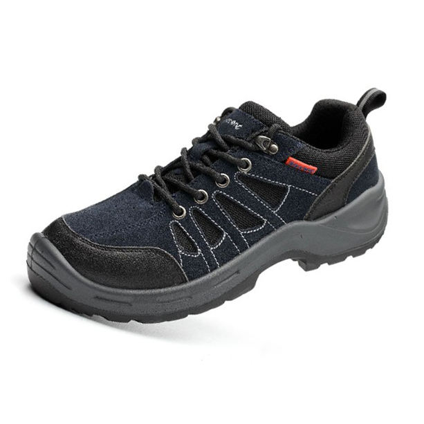 Ventilate and Comfortable leather Safety Shoes for man