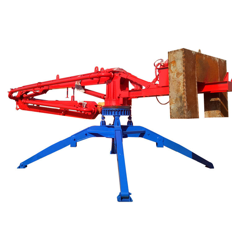 Factory supply HGY17 concrete placing spider 17m concrete placing boom for Sale