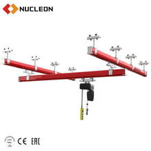electric/ manual suspended GIRDER  chain hoist for plane/ car maintenance