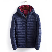 lightweight men slim padding jacket nylon winter jacket wholesale men padded jacket