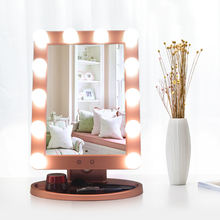 Lighted Makeup Mirror Cosmetic Mirror Hollywood Light Up Vanity Mirror For Bedroom