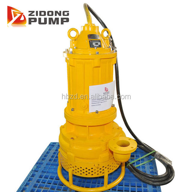 submersible slurry pump for pumping tailing slurry