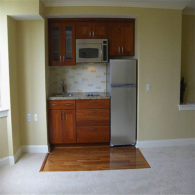 Factory price kitchen units hotel kitchenette for sale