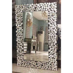 Modern design 3D rectangle wall mirror