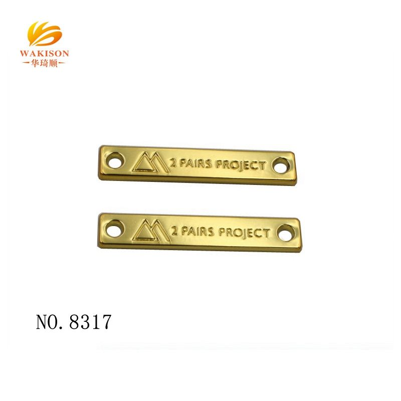 2019 New metal garment accessories metal tags for clothes