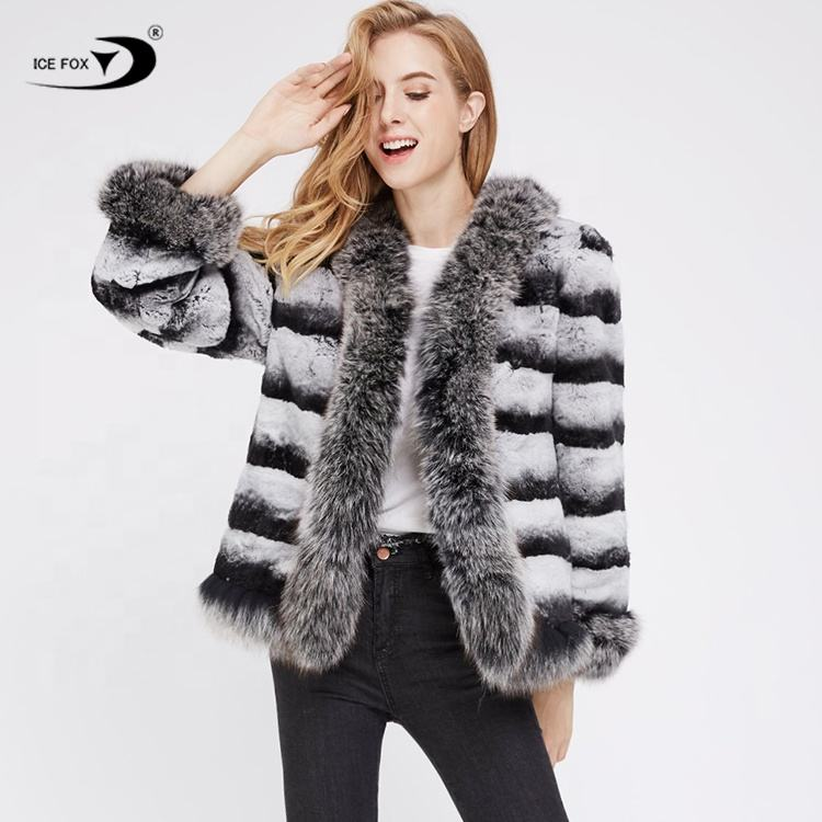 Long Luxury Winter Women Keep Warm Overcoat Women High Quality Real Fur Coat Women