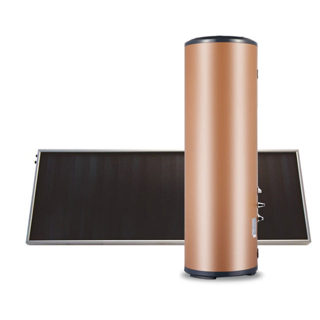 Pressurized Flat Panel Split Solar Water Heater