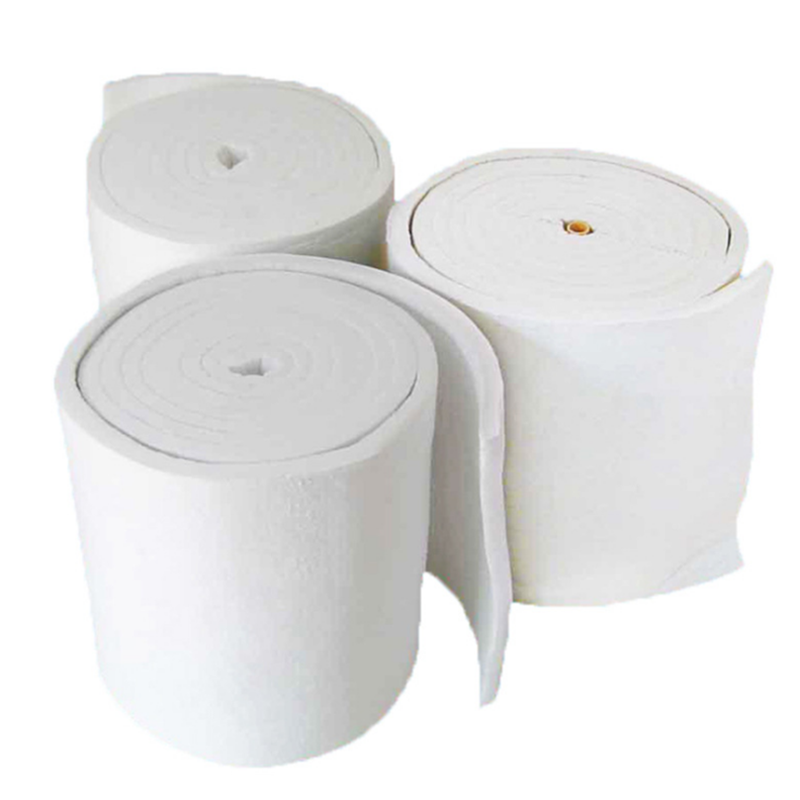 25mm thickness Refractory Wool insulation fiber fireproof lining ceramic fiber blanket