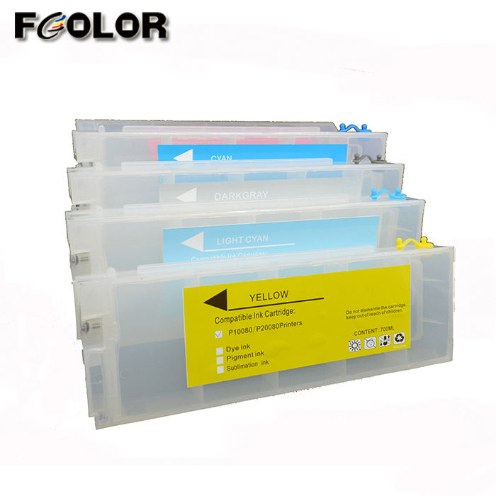 700ml Ink Tank for Epson T3200 T5200 T7200 Refill Cartridge with Chip