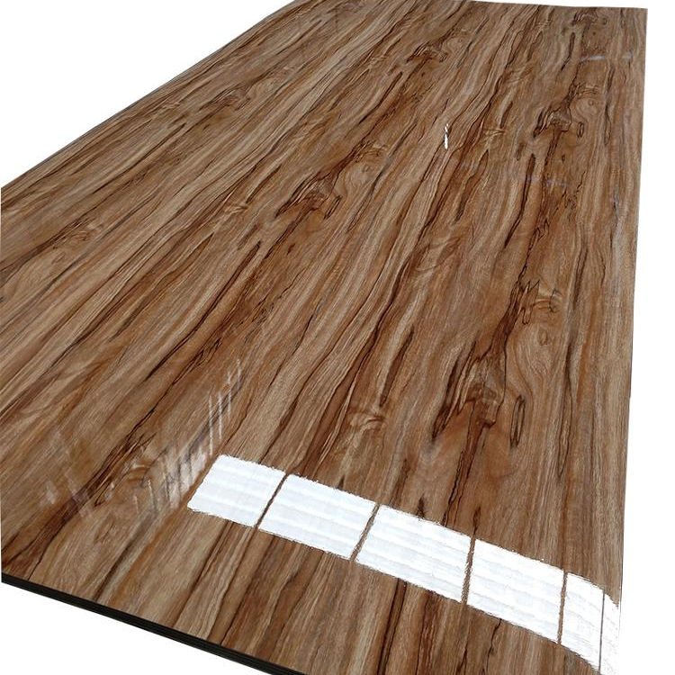2019 top selling pvc uv panel wooden grain series /pvc sheet for furniture /cabinet panel