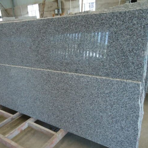 Bush martillado China Travertin piedra revestimiento de pared de granito G603 granito pavimentadora