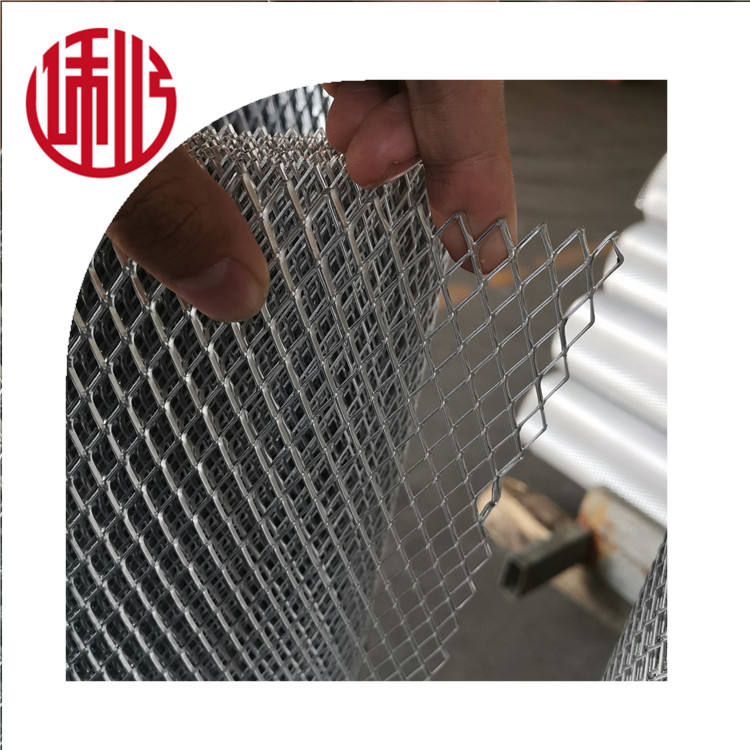 Factory price galvanized expanded metal mesh /coil in Heng Shui