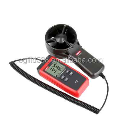 UNI-T UT363S Digital Portable Wind Speed Air Volume Measuring Meter Anemometer 30m/s LCD Electronic tachometer with Backlight