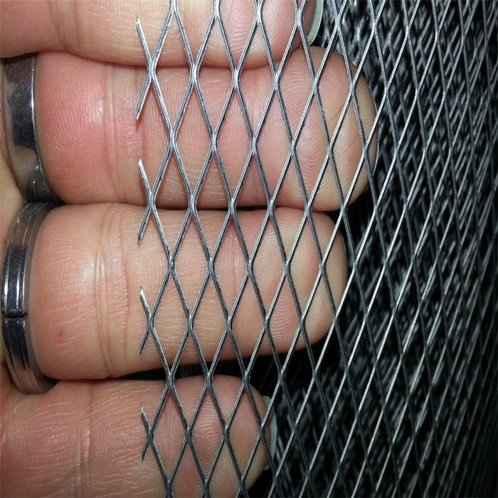 galvanized iron Expanded Steel Diamond Mesh Steel Screen expended mesh