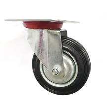 Super september 3 Inch Swivel Rubber Caster Wheel