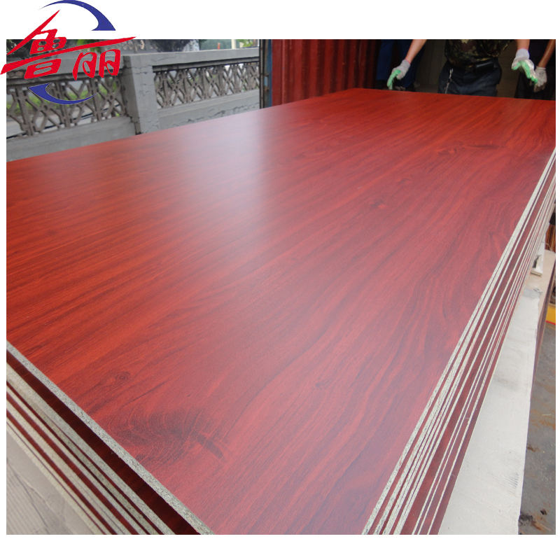 low price melamine paper faced chipboard sheets for furniture