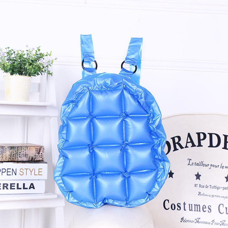 Summer hotselling PVC Pure Candy Jelly Waterproof Inflatable Bag Bubble Bag Waterproof Beach Bag