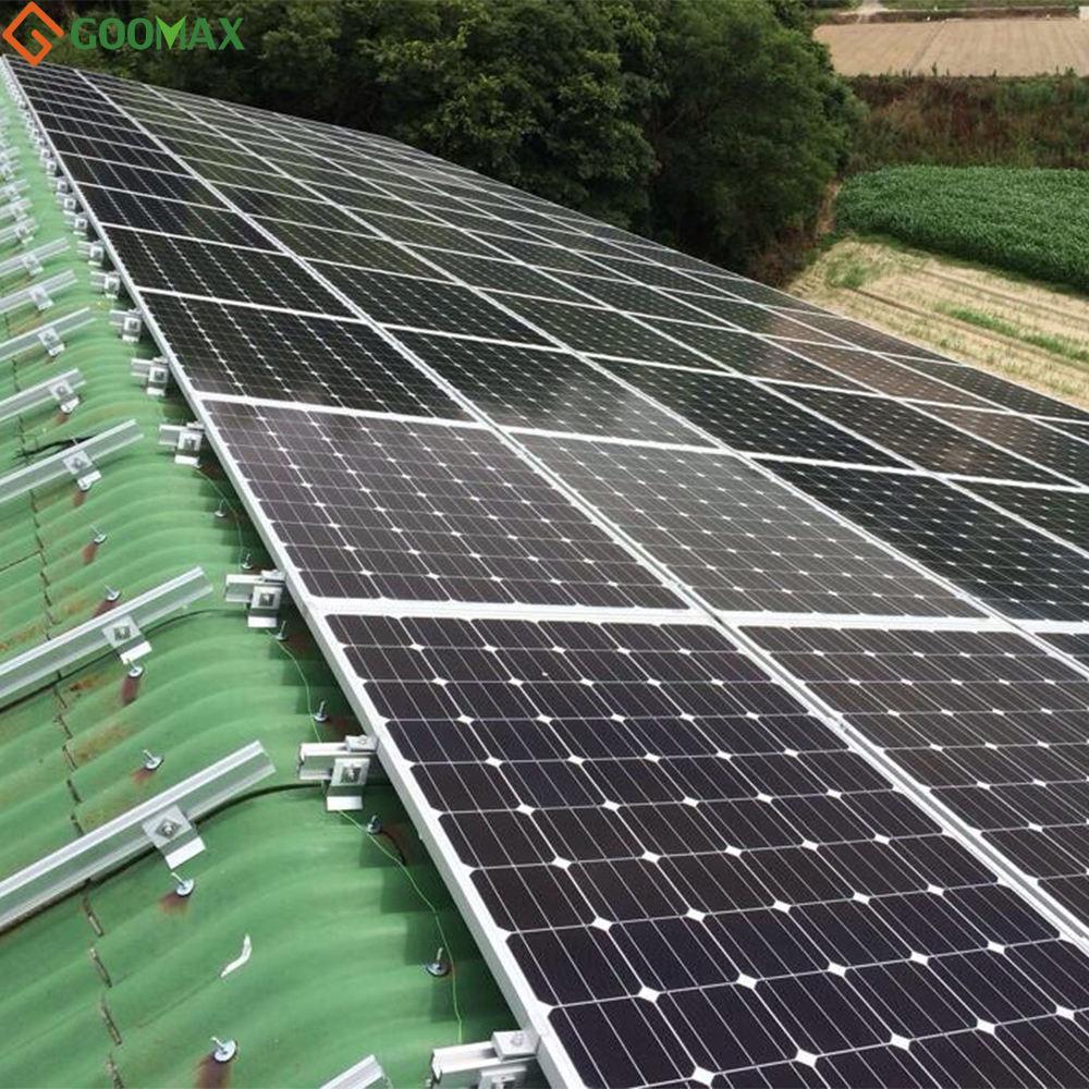 Chất lượng-đảm bảo mái năng lượng mặt trời hệ thống 10kw năng lượng mặt trời bảng điều khiển bộ dụng cụ đối với trang chủ hệ thống lưới điện