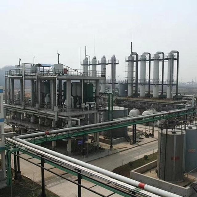 New designed oil refinery for light crude to separate gasoline and diesel