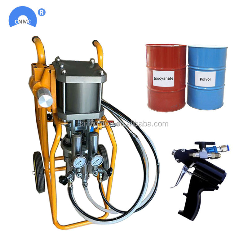 Cheap Portable Polyurethane Pu Spray Foam Machine For Wall Roof Tank Container Insulation