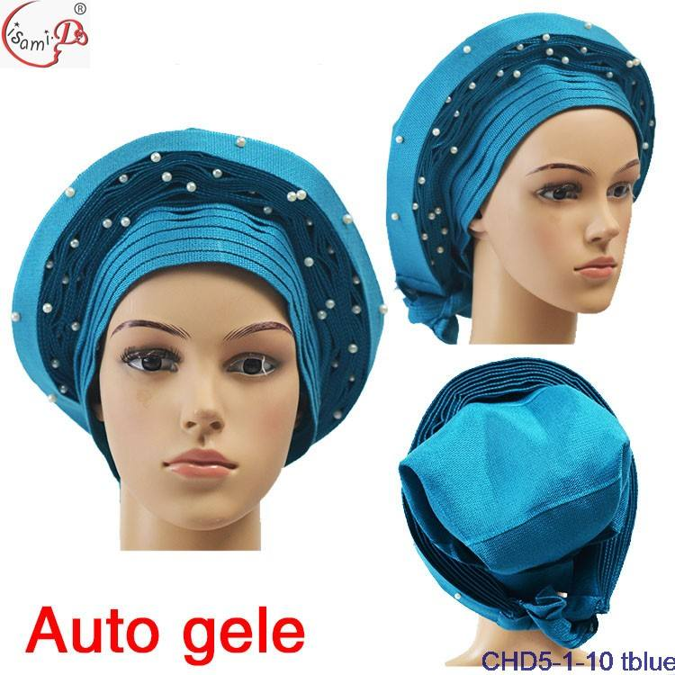 2021 the new fashion style african traditional Trustwin headtie Wear Directly African gele auto gele CHD5-1-1
