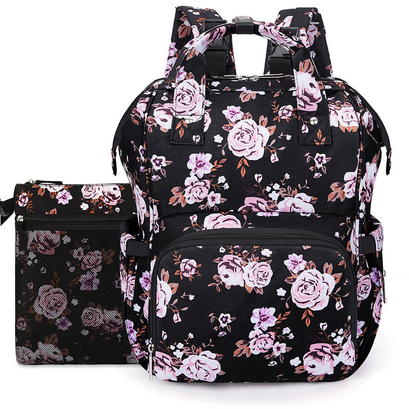 Lokass 2019 New Design Multi-function Mummy Bag Stylish Durable Custom Diaper Bag