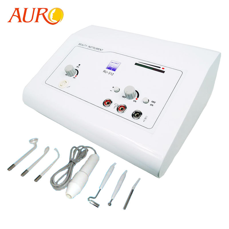 Au-312 Multifunctional 2 in 1 High frequency/Galvanic Facial Machine