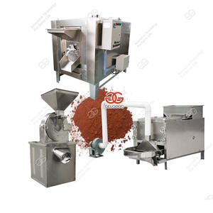 100 kg/h Cocoa Processing Equipment Cocoa Powder Processing Machine GELGOOG