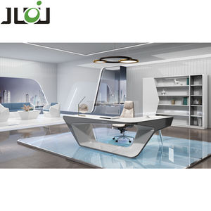 High-tech modern ceo boss executive table office computer table design executive desk Modern L-Shaped Desk