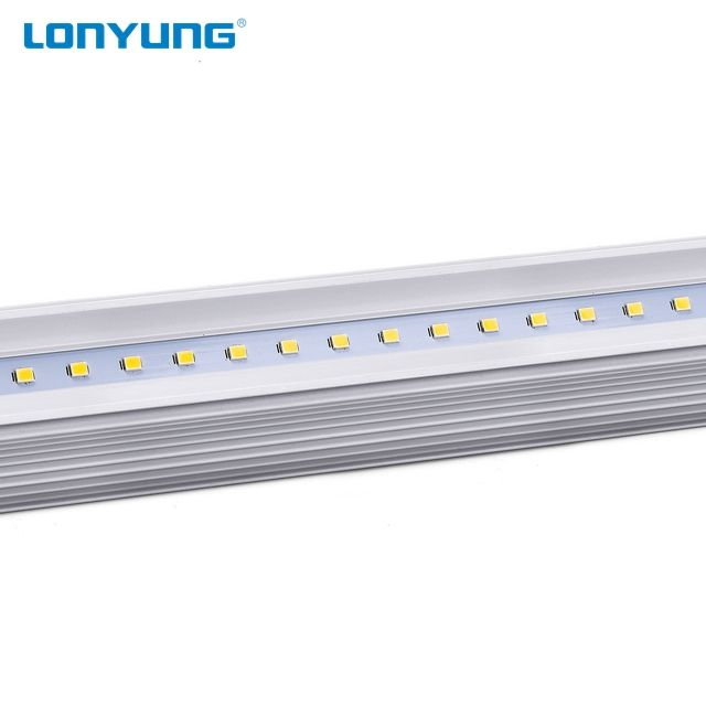 USA Standard DLC Listed SMD2835 3000K-6500K 18w 4FT 8FT LED Shop Lighting T8 new led batten lights led ceiling light fixture