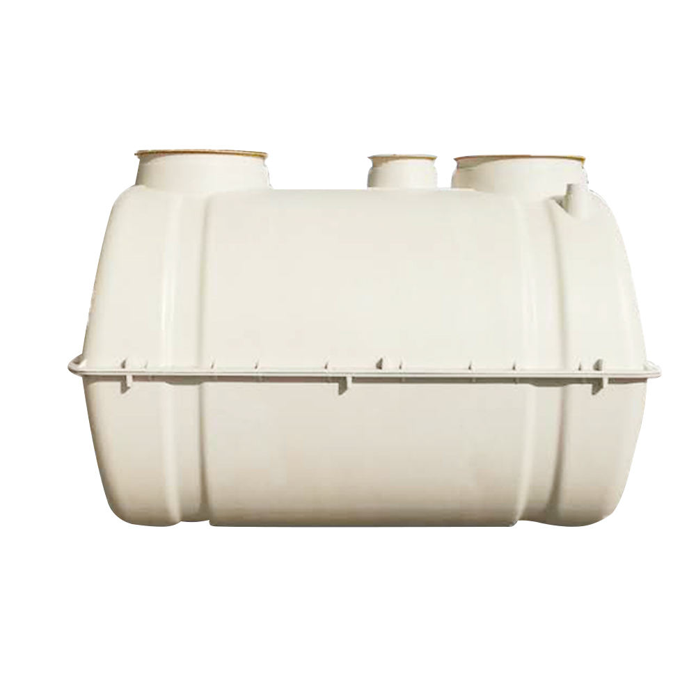 Underground high quality frp/smc/pp/hdpe molded septic tank