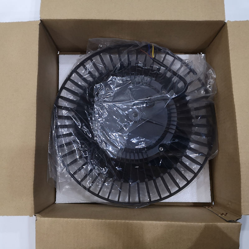 Factory direct supplier Aluminum black 100W 12000lm SMD ufo round led high bay light