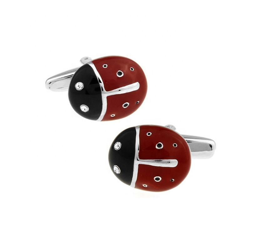 New Novelty Ladybird Animal Cufflinks