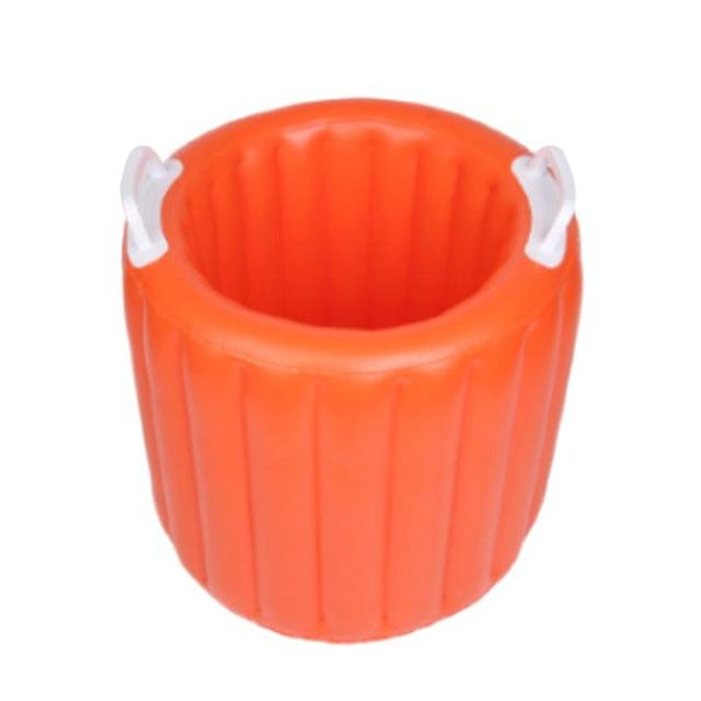 Durable pvc drink cooler inflatable ice bucket