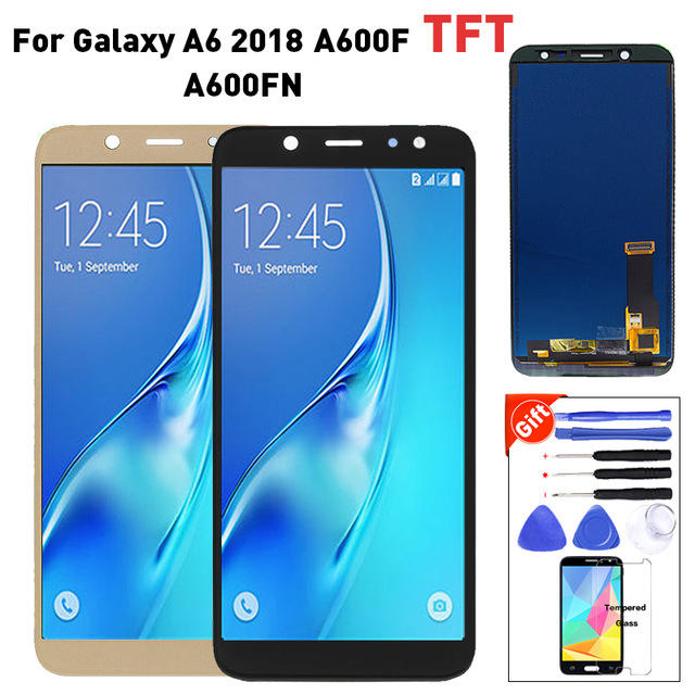 A600 LCD For SAMSUNG Galaxy A6 2018 A600F A600FN LCD Display with Touch Screen Digitizer Assembly