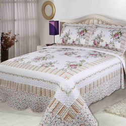 100% cotton unique beautiful duvet cover set high quality 3p